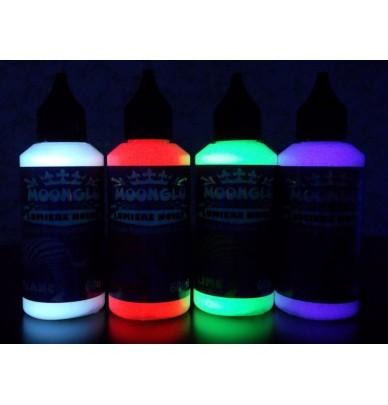 4 sonderFarben für Blacklight Set