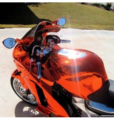 MOTO Kit Complet CHROME CANDY