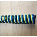 Einfache, doppelte, und dreifache spiralförmige Schläuche