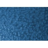 Lack mit gehämmertem Effekt Bleu caraibe
