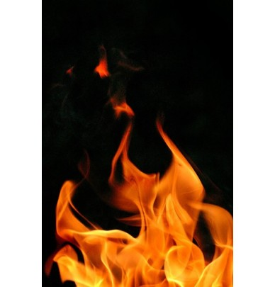 """Schablone Stardust für Flammen """"True Fire"""""""