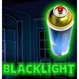 Unsichtbarer fluoreszierender Lack in Sprühdose
