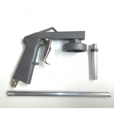 Blackson Pistole gegen Rollsplitt