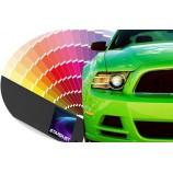 Zweischichtiger Lösemittel-haltiger Autolack zu lackieren -Herstellerfarbton