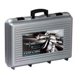 HANDKOFFER MIT 2 PISTOLEN IWATA - LS400 Entech + WS400 EvoClear
