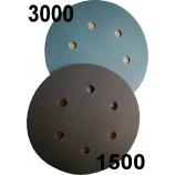 Velcro Abschleifenplatten Korn 1500 oder 3000