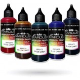 "Candy"" Serie – 8 Acryl-PU transparenten Farben für Airbrushpistole"