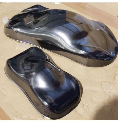 Chrom Black – spezielle metallisierte Effektlacke