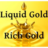 Flüssige Vergoldung – reichen goldenen Gold Lack