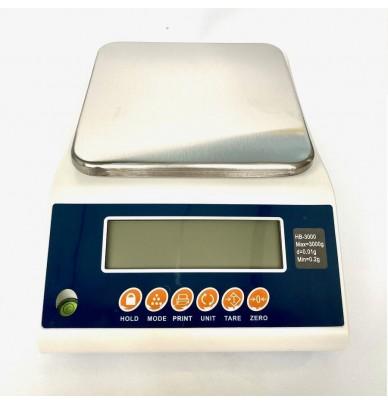 Professionnelle digitale 3 kg Waage hoher Präzision