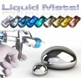 Metall Liquid lacke - poliert Metalleffekt