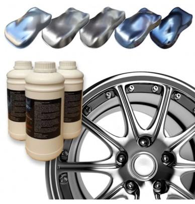 Metallisierte Epoxidlack für Felgen BC50
