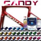 Komplettes Kit von Candylack für Fahrrad