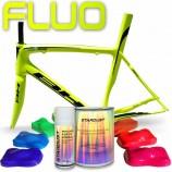 Komplettes fluoreszierendes Fahrrad-Farbset