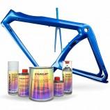 Komplettes Kit von Perlmutt-Lacken für Fahrrad