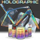 Komplettes Kit von Holografielackierung für Fahrrad