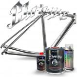 Chrom-Effektlack für Fahrräder – Komplettes Kit - Farbauswahl