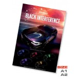 Black interference poster