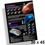 Poster 30x45cm Kristall- und Marmoreffekte