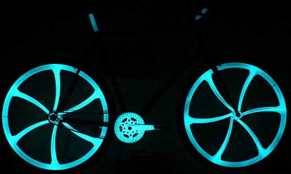 spray fahrradlack phosphoreszierend