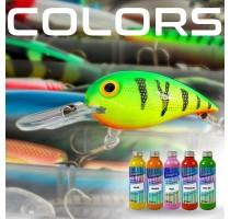 Farben und Farbtöne für Köder